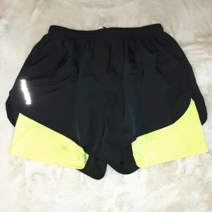 2 shorts in one...